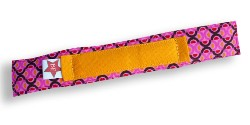 braceface beugelband print-roze